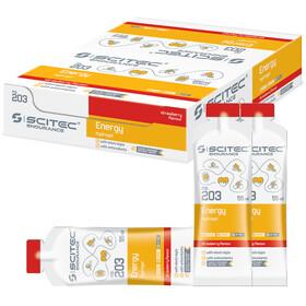 SCITEC Energy Gel Caja 12x55ml, Strawberry